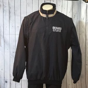 Charles River pullover removable sleeves windbreak
